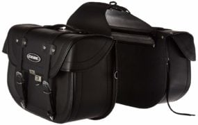 Oxide Deluxe Tek Leather Motorcycle Panniers Saddlebags