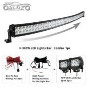 SLDX Curved 52-Inch LED Off-Road Light Bar