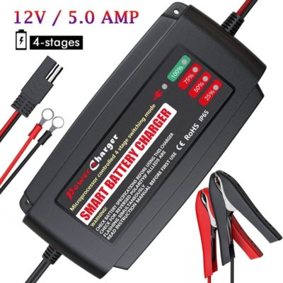 BMK 12V 5A Smart Battery Charger
