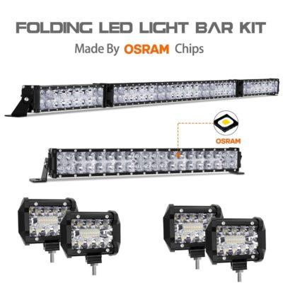 Autofeel 72000LM LED Light Bar Kit