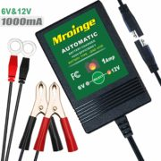 Mroinge MBC016 6V / 12V 1A Fully Automatic trickle Battery Charger