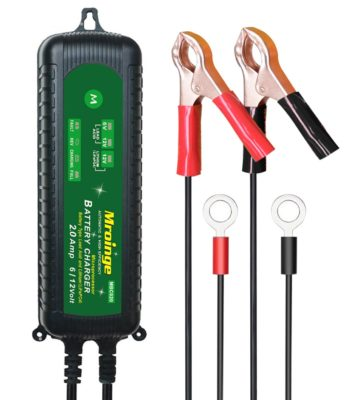Mroinge MBC020 12V/6V 2A Fully Automatic Trickle Battery Charger Maintainer