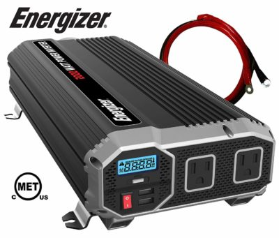 Energizer 2000 Watt 12V Power Inverter