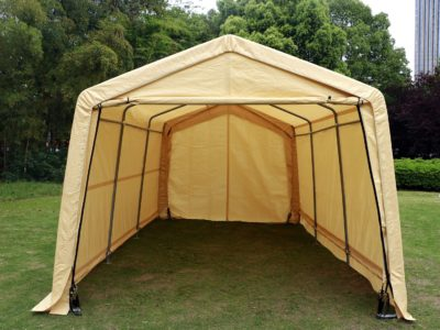 Bestmart Heavy Duty Beige Portable Carport