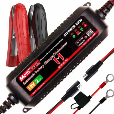 MOTOPOWER MP00207A 12V 2Amp Smart Automatic Battery Charger