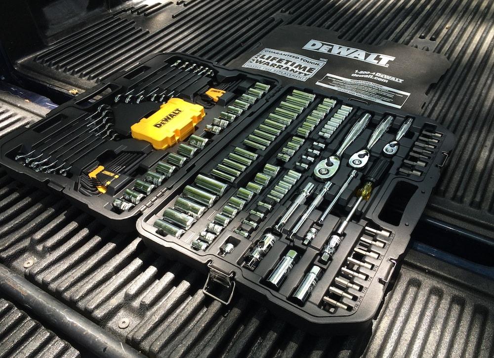 tool mechanics dewalt sets truck piece wrenches