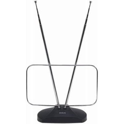 RCA ANT111E Indoor Digital TV Antenna, Non-Amplified, 40-Mile Range