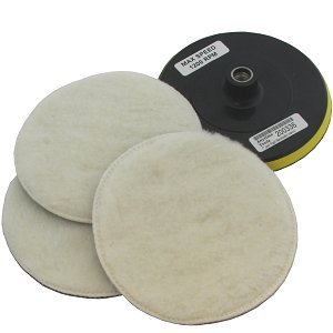 Anytime Tools Soft Wool Bonnet and Pad