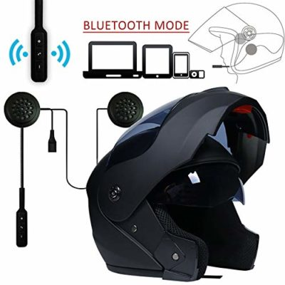MOPHOTO Full Face Motorcycle Bike Helmet