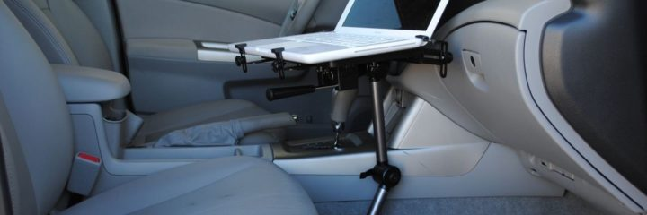 Work on the Go with the Best Laptop Vehicle Mounts