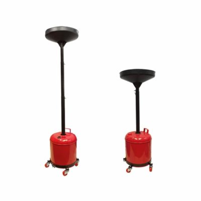 Portable 5 Gallon Telescopic Oil Drain Dolly