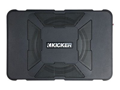 "Kicker 11HS8 8"" 150W Hideaway Car Audio Powered Subwoofer"