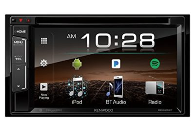 "Kenwood DDX25BT 6.2"" 2-Din In-Dash DVD Monitor Bluetooth Receiver"