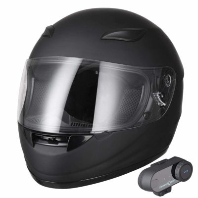 AHR Bluetooth Motorcycle Full Face Helmet