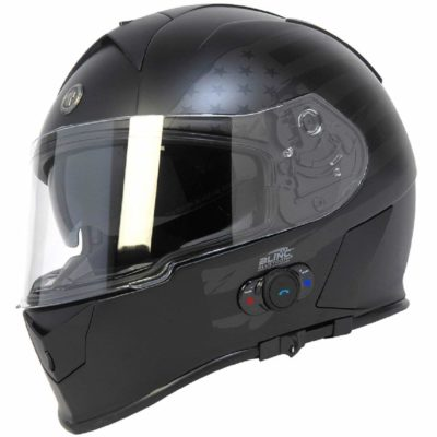 Torc T14B Bluetooth Integrated Mako Helmet