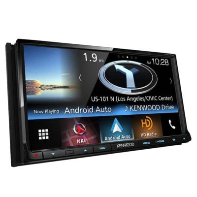 "Kenwood DNX773S in-Dash 2-DIN 6.95"" Touchscreen DVD Receiver"