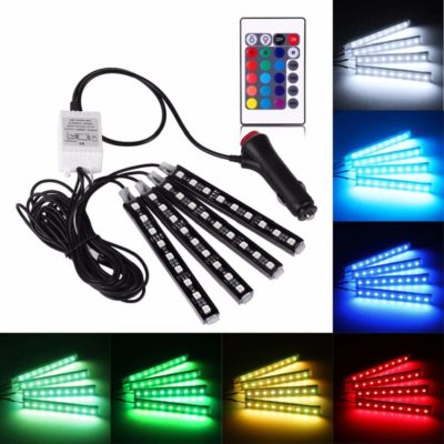 HenLight Decorative Atmosphere Neno Lights Strip Waterproof Underdash Lighting Kit