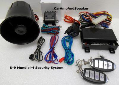 Brand New Omega K9 Mundial-4 (New Version) Car Alarm