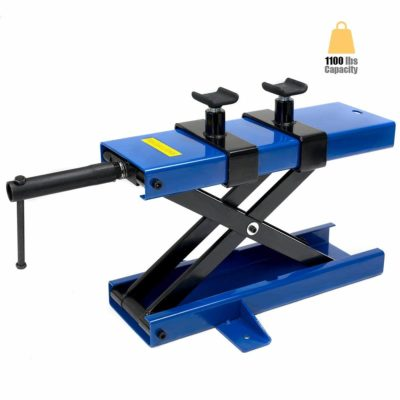STKUSA 1100Lbs Motorcycle Lift Scissor Center Jack Lift
