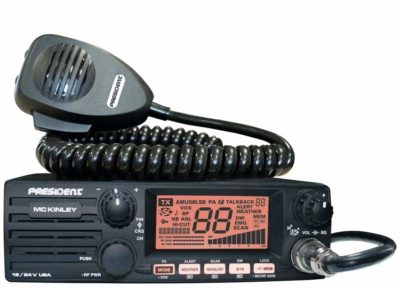 President McKinley USA 40-Channel CB Radio