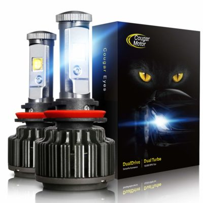 Cougar Motor LED Headlight Bulbs All-in-One Conversion Kit - H11