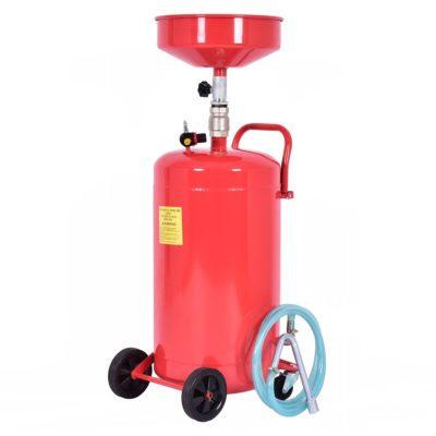 Goplus 20 Gallon Portable Waste Oil Drain Tank