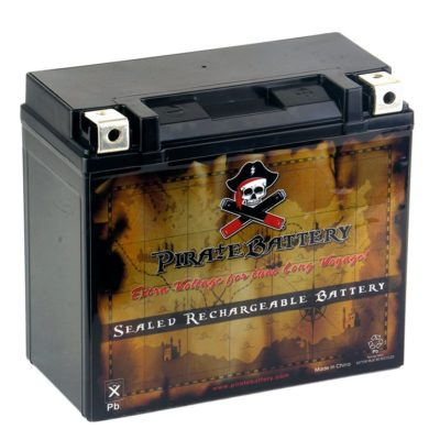 Rechargeable YTX20HL-BS High-Performance Power Sports Battery