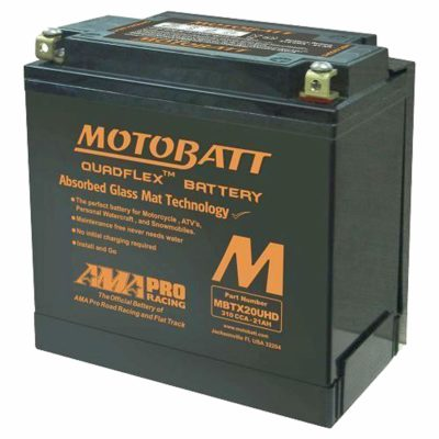Motobatt Motorcycle Battery MBTX20U