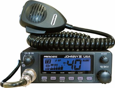 President Johnny III USA 40 Channel CB Radio