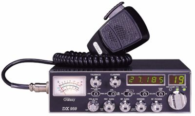 Galaxy DX-959 40-Channel AM/SSB Mobile CB Radio with Frequency Counter