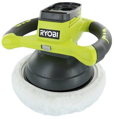 "Ryobi P435 One+ 18V Lithium-Ion 10"" 2500 RPM Cordless Orbital Buffer"