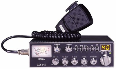 Galaxy DX-949 40 Channel AM/SSB Mobile CB Radio