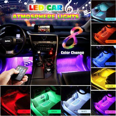 Drita Strip Super Multicolor Music Car Interior LED Neon Lights Kit