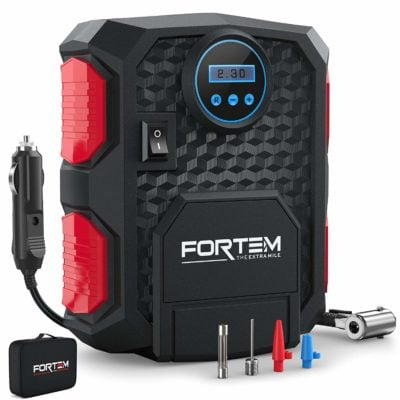 Fortem Digital Tire Inflator for Car