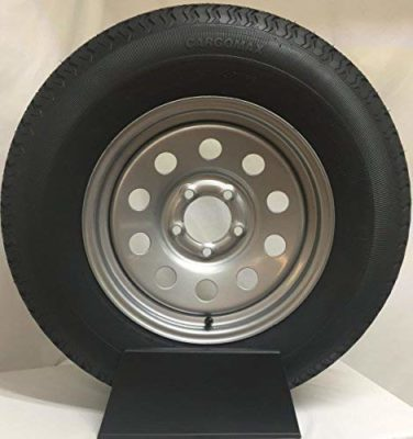 "15"" Silver Mod Trailer Wheel"