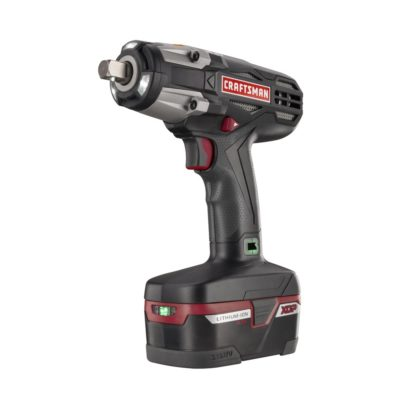 "Craftsman C3 ½"" Heavy Duty Impact Wrench Kit"