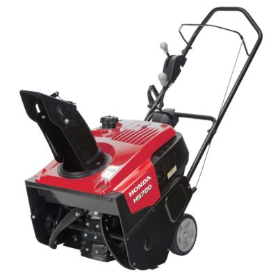 "Honda Power Equipment HS720AA 20"" 187cc Single-Stage Snow Blower"