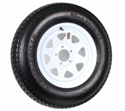 eCustomRim Trailer Tire On Rim