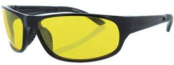 Fiore HD Night Driving Sunglasses Aviator Sport Wrap Glasses