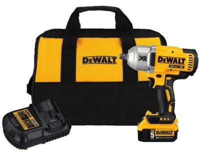 "DeWalt DCF899P1 20V 1/2"" Impact Wrench Kit"