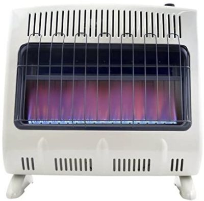 Best Natural Gas Garage Heater: Mr. Heater Blue Flame Natural Gas Heater