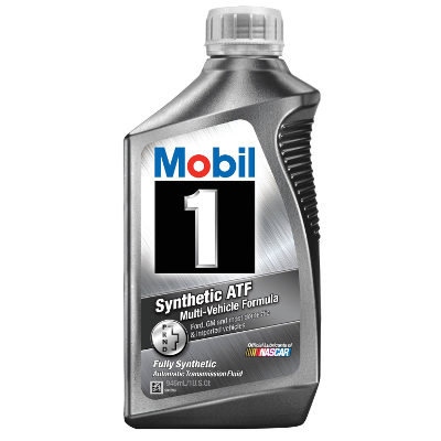 Mobil 1 112980 Synthetic Automatic Transmission Fluid