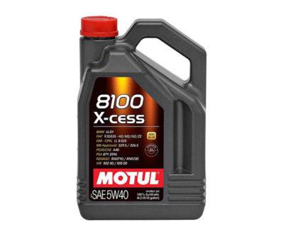 Motul 8100 X-cess Oil