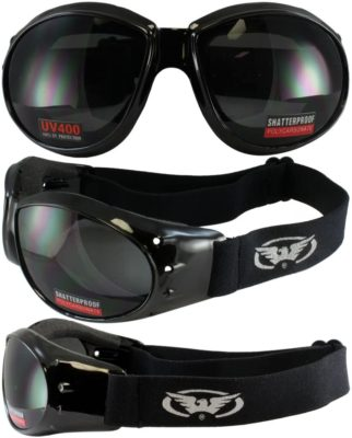 Global Vision Eyewear Eliminator Motorcycle Goggles