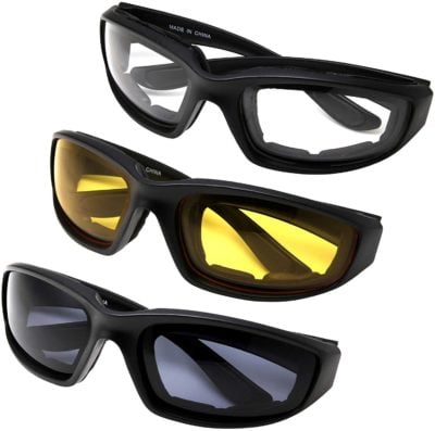 MLC Eyewear Motorcycle Riding Glasses