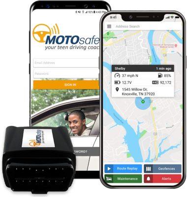 MotoSafety GPS Tracker