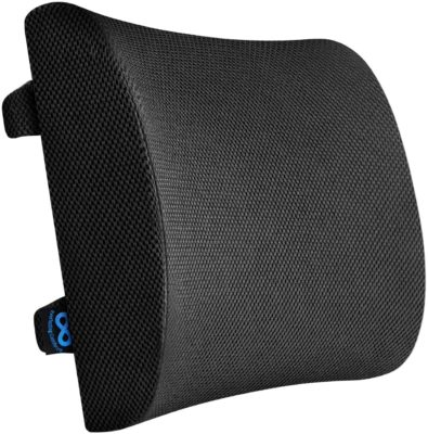 Posture Cushion Motorcycle Rider Comfort Cushion With Super Strong Straps and Non Slip Base