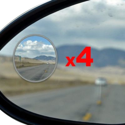 Essential Contraptions 4-Pack Blind Spot Mirrors