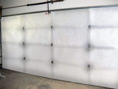 NASA TECH White Car Garage Door Insulation Kit