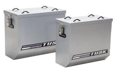 Tusk Aluminum Panniers Medium Silver